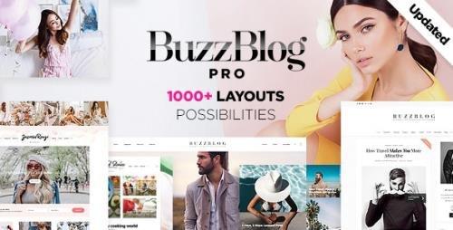 ThemeForest - Buzz v4.9.8 - Lifestyle Blog & Magazine WordPress Theme - 7424768
