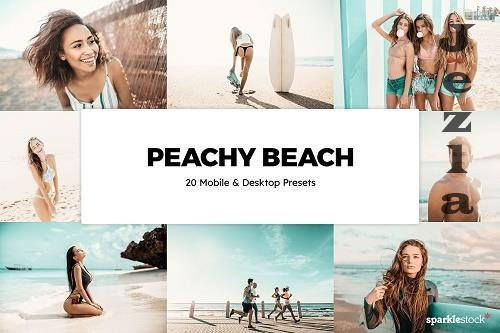 20 Peachy Beach LRM Presets - 6132129