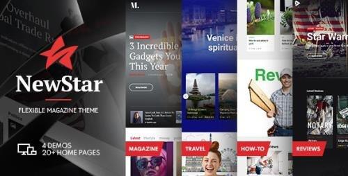 ThemeForest - NewStar v1.3.0 - Magazine & News WordPress Theme - 21670071