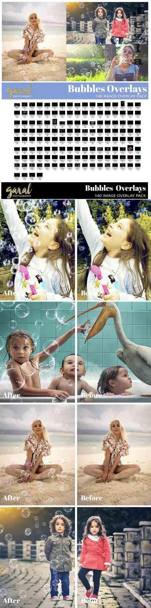 140 Bubbles Digital Overlays - 630187 - Soap Bubbles
