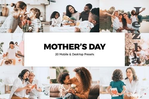 20 Mother's Day LRM Presets - 6134257