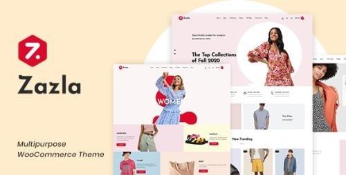 ThemeForest - Zazla v1.0.6 - Modern & Minimal WooCommerce Theme - 26891581