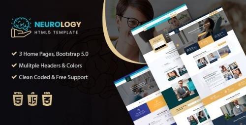 ThemeForest - Neurology v1.0 - Psychology & Counseling HTML Template - 30614484