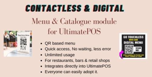 CodeCanyon - Digital Product catalogue & Menu module for UltimatePOS v0.6 - 28825346