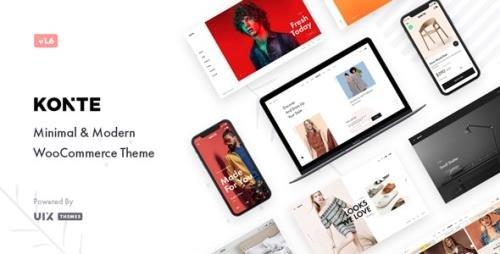 ThemeForest - Konte v2.0.0 - Minimal & Modern WooCommerce WordPress Theme - 23162599