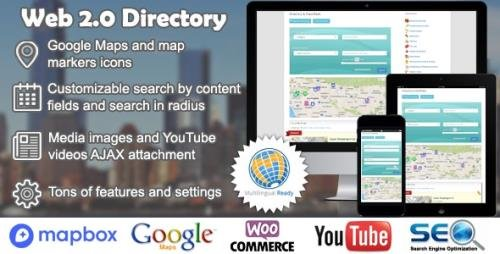CodeCanyon - Web 2.0 Directory v2.7.7 - plugin for WordPress - 6463373 -