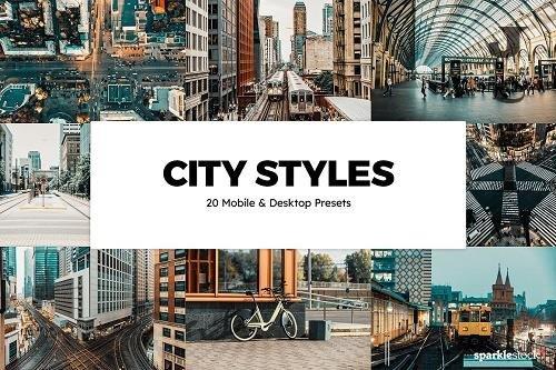 20 City Styles LRM Presets - 6150453