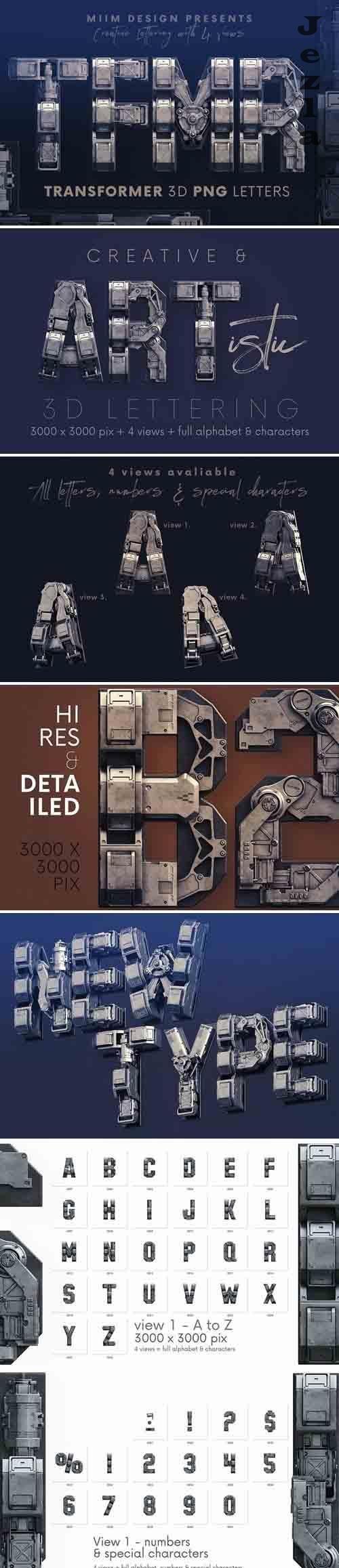 Transformer - 3D Lettering - 6129568