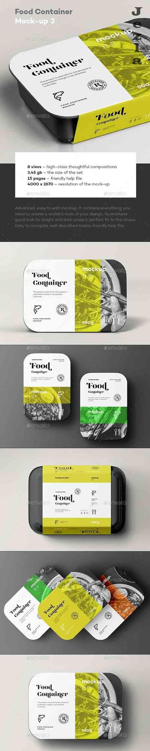 GraphicRiver - Food Container Mock-up 3 31894135
