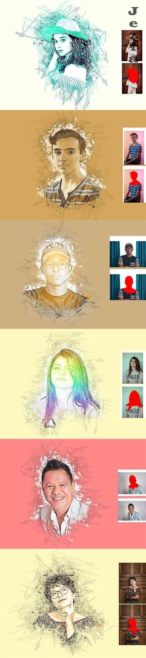 CreativeMarket - PHSP Art Effect 5988940