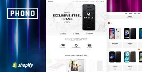 ThemeForest - Phono v1.0.0 - Online Mobile Store and Phone Shop Shopify Theme - 23987087