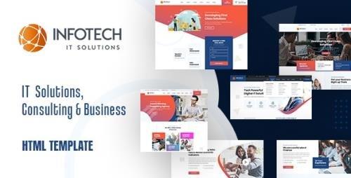 ThemeForest - Infotech v1.0 - IT Solutions HTML5 Template - 31975562