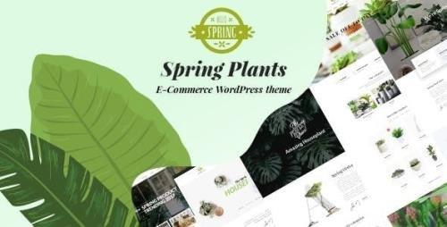 ThemeForest - Spring Plants v2.7 - Gardening & Houseplants WordPress Theme - 21580907