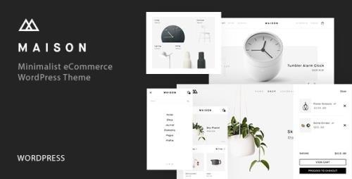 ThemeForest - Maison v1.25 - Minimalist eCommerce WordPress Theme - 20357536