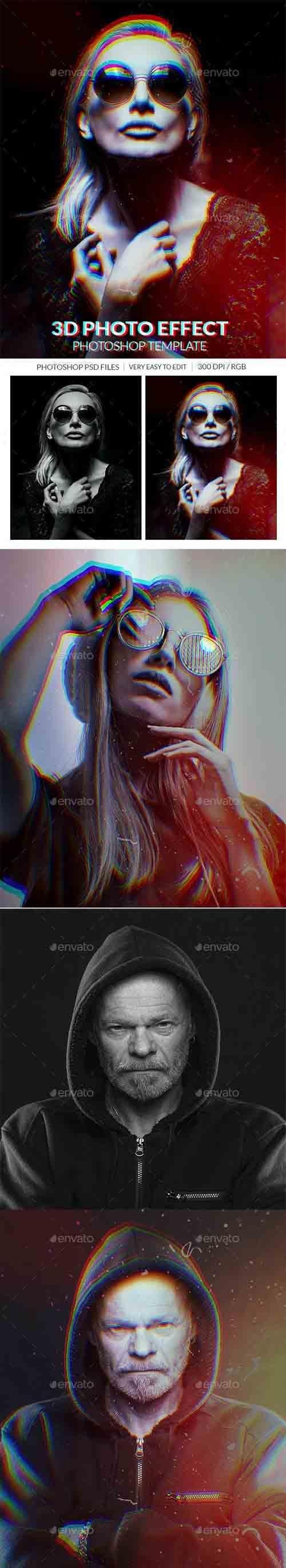 3d Photo Effect - 31131704