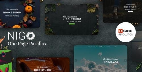 ThemeForest - Nigo v1.0 - Creative Parallax One Page HTML Template (Update: 3 December 19) - 22827676