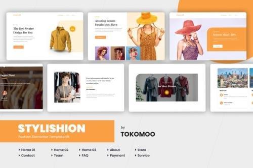 ThemeForest - Stylishion v1.0.2 - Fashion Store Elementor Template Kit - 26296373