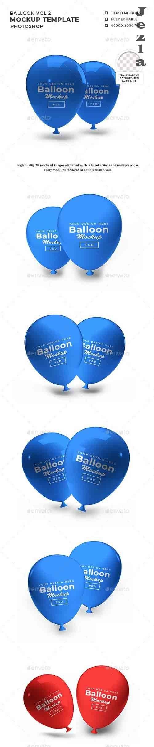 Balloon 3D Mockup Template Vol 2 - 32380478 - 1393201