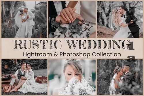 10 Rustic Wedding Photo Edit Collection - 1398658