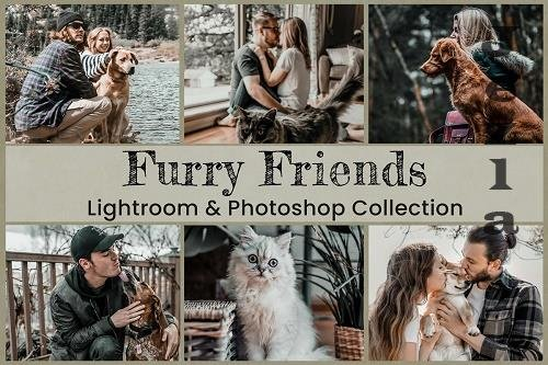 15 Furry Friends Photo Edit collection - 1405785