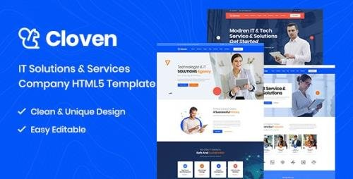 ThemeForest - Cloven v1.0 - IT Solutions And Services Company HTML5 Template (Update: 6 April 20) - 25368682
