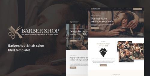 ThemeForest - BarberShop v2.0 - Hair Salon HTML Template - 21218278