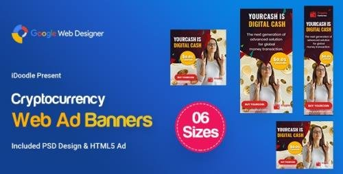 CodeCanyon - C79 - Cryptocurrency Banners HTML5 Ad (GWD & PSD) v1.0 - 24020637