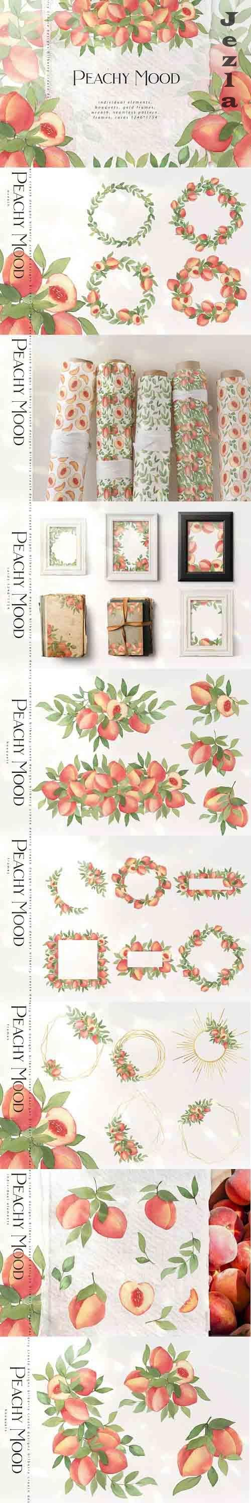 Peachy Mood collection - 6047013