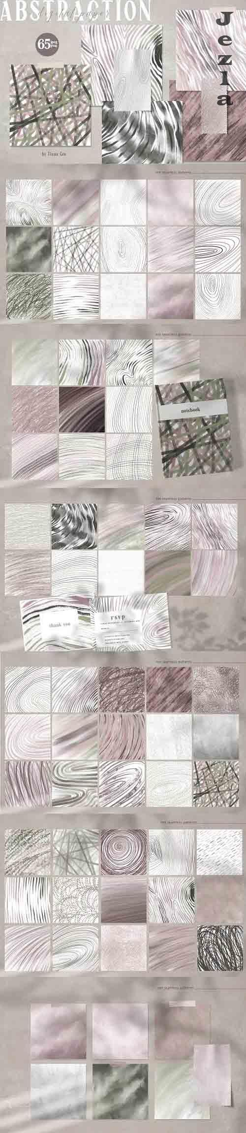 Abstract digital paper pack - 6206739