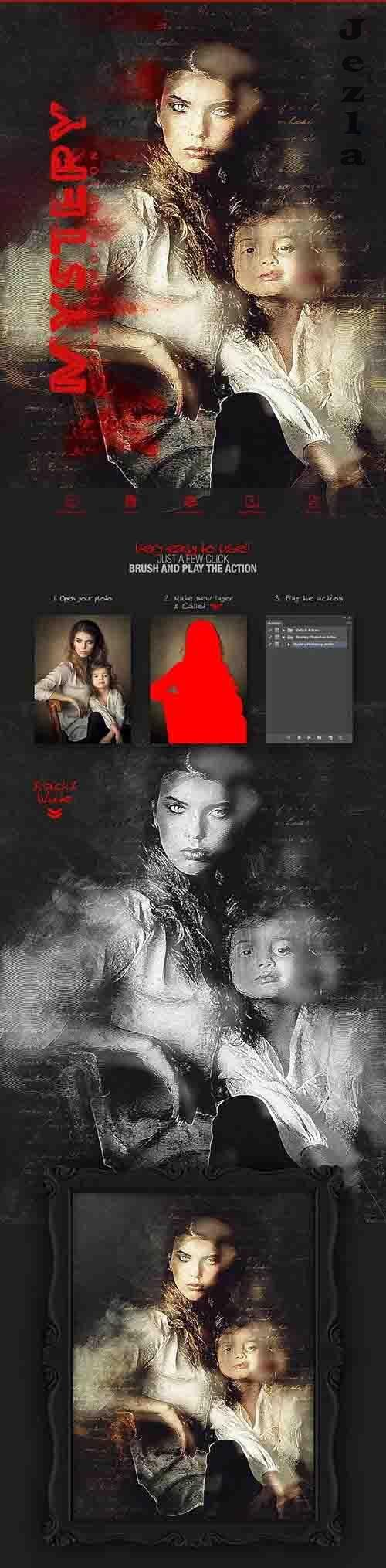 Mystery Photoshop Action - 32309560