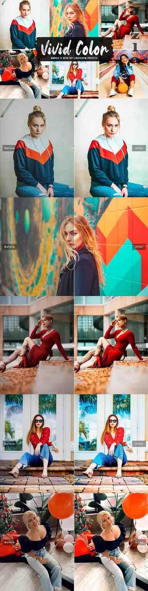 Vivid Color Pro Lightroom Presets - 6219349