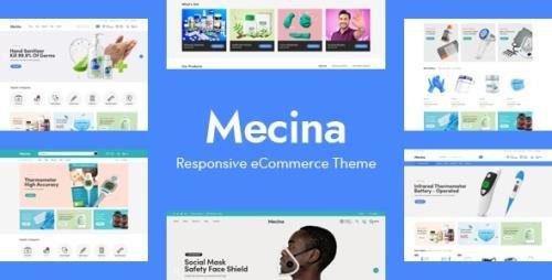 ThemeForest - Mecina v1.0 - Medical & Healthcare OpenCart Theme - 32601405
