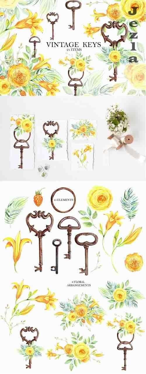 Vintage Keys - 1392810
