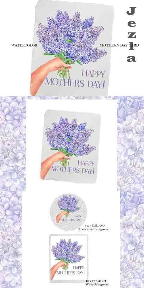 Mothers day card - 1345864