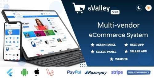 CodeCanyon - 6valley Multi-Vendor E-commerce - Complete eCommerce Mobile App, Web, Seller and Admin Panel v3.0 - 31448597 -