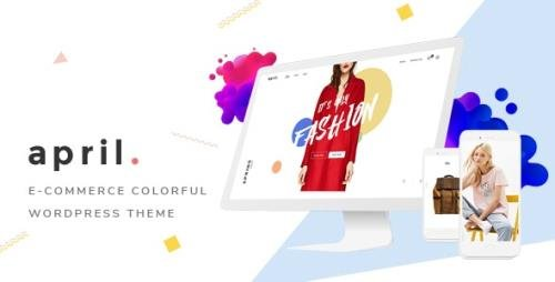 ThemeForest - APRIL v5.1 - Fashion WooCommerce WordPress Theme - 20647488