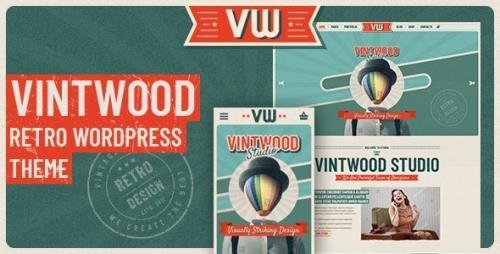 ThemeForest - VintWood v1.0.9 - a Vintage, Retro WordPress Theme - 22601126