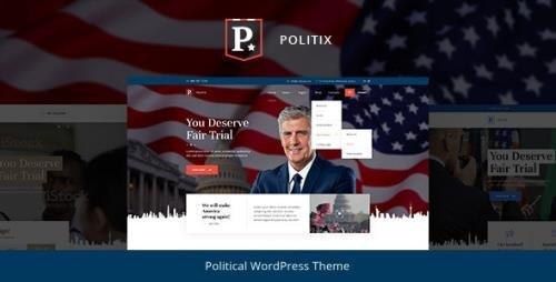 ThemeForest - Politix v1.0.4 - Political Campaign WordPress Theme - 24659095