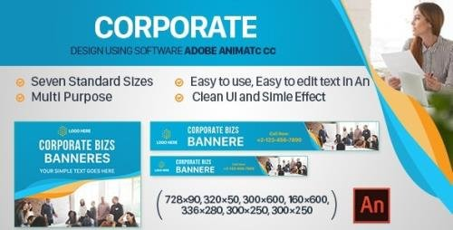 CodeCanyon - Corporate Banners Ad HTML5 (Animate CC) v1.0 - 32567990
