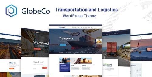 ThemeForest - GlobeCo v1.0.6 - Transportation & Logistics WordPress Theme - 23359087