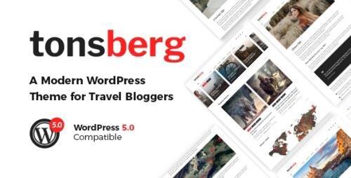 ThemeForest - Tonsberg v1.3 - A Modern WordPress Theme for Travel Bloggers - 22956137