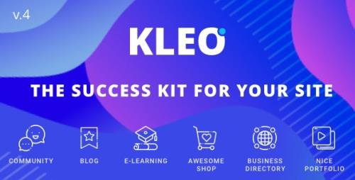 ThemeForest - KLEO v5.0.3 - Pro Community Focused, Multi-Purpose BuddyPress Theme - 6776630 -
