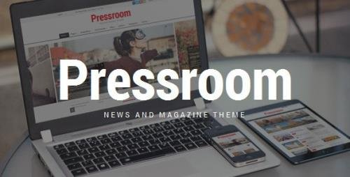 ThemeForest - Pressroom v5.3 - News and Magazine WordPress Theme - 10678098