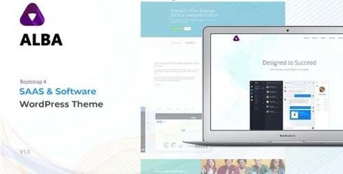 ThemeForest - Alba v1.0 - Startup/Software WordPress Theme (Update: 6 June 21) - 21233859