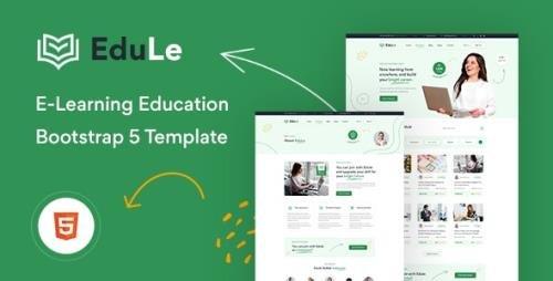 ThemeForest - Edule v1.0 - eLearning Website Template - 32382221
