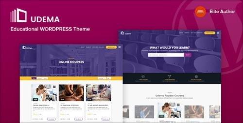 ThemeForest - UDEMA v1.0 - Modern Educational WordPress Theme - 22028990