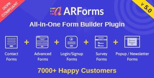 CodeCanyon - ARForms v5.0 - Wordpress Form Builder Plugin - 6023165 -