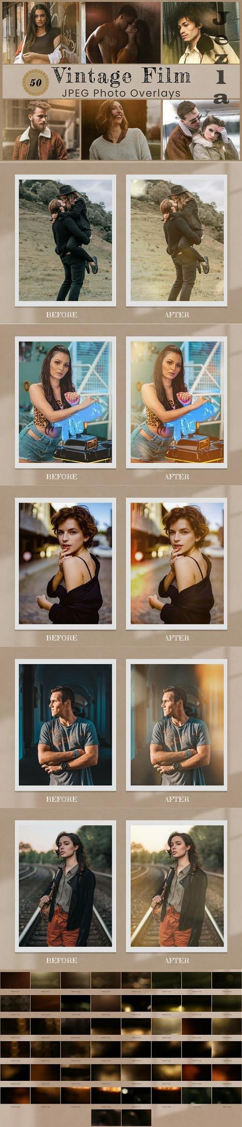 50 Vintage Photo Overlay - 1431878
