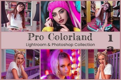 10 Pro Colorland Photo Editing Collection - 1434864
