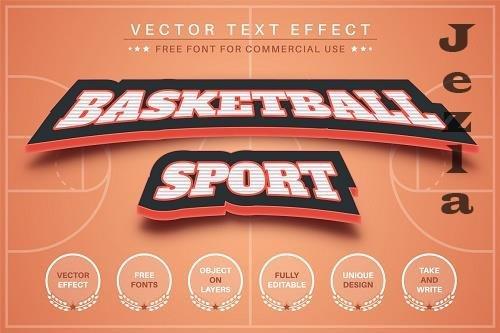 Basketball - editable text effect - 6255474